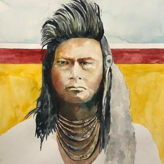Joseph - 16x20 Watercolor on Paper